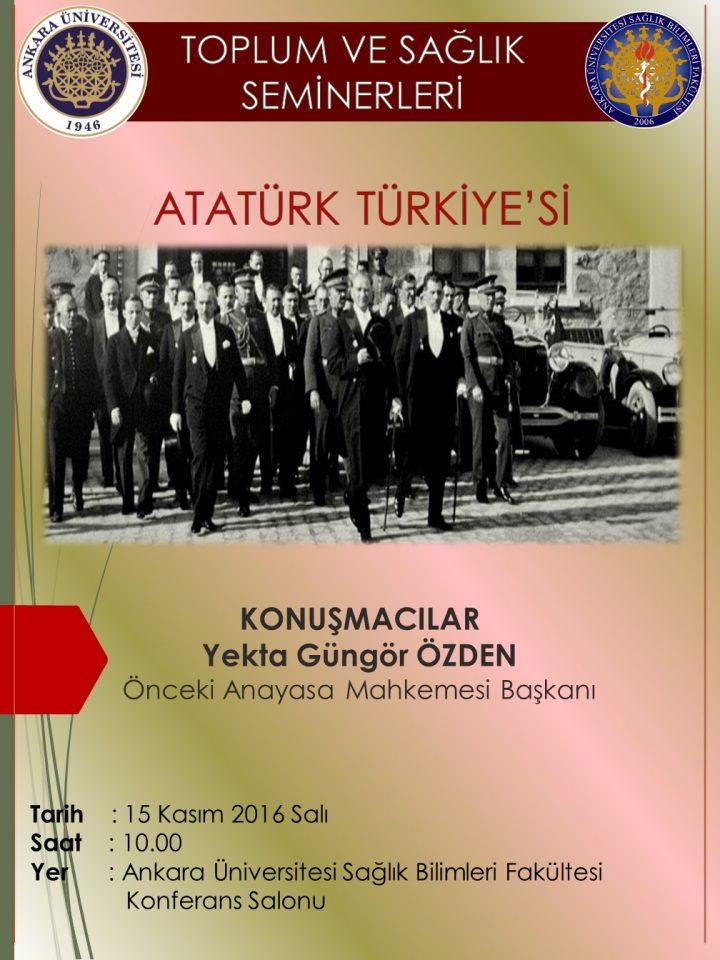 Atatürk Türkiye'si